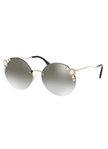 Miu Miu 0MU 52TS-VW75O060 Kadın Gözlük Altın